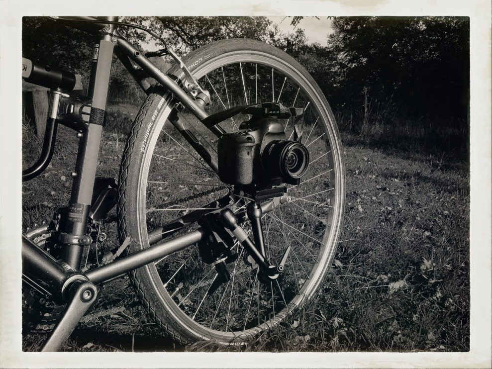 Camera on bike frame